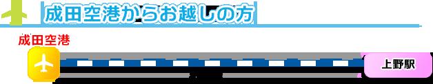 羽田空港からお越しの方